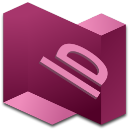 256x256px size png icon of InDesign 2