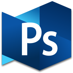 256x256px size png icon of Photoshop Extended 3