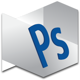256x256px size png icon of Photoshop Standard