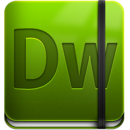 256x256px size png icon of Dreamweaver