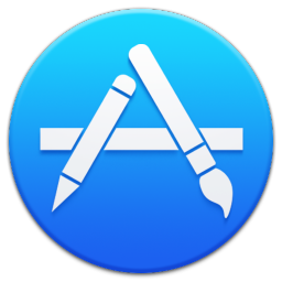 256x256px size png icon of Apple Appstore