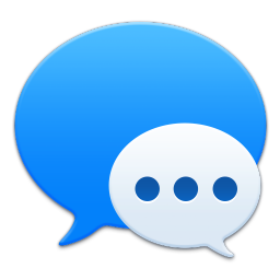 256x256px size png icon of Apple Messages