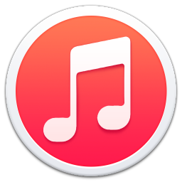 256x256px size png icon of Apple iTunes Border