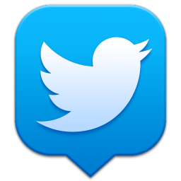 256x256px size png icon of Twitter 2