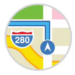 256x256px size png icon of Maps