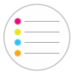 256x256px size png icon of Reminders