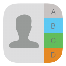 256x256px size png icon of Contacts 2