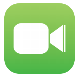 256x256px size png icon of Facetime 01