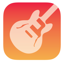 256x256px size png icon of Garageband