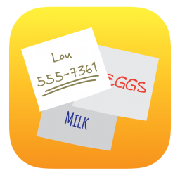 256x256px size png icon of Stickies
