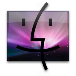 256x256px size png icon of Leo Finder Pink