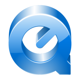 256x256px size png icon of Thick QuickTime 1