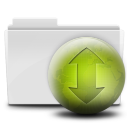 256x256px size png icon of Torrent Folder (Close)