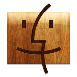 256x256px size png icon of Wooden Finder