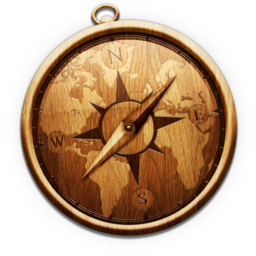 256x256px size png icon of Wooden Safari
