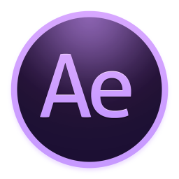 256x256px size png icon of Adobe AfterEffects
