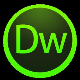 256x256px size png icon of Adobe Dreamweaver