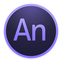 256x256px size png icon of Adobe Edge Animate