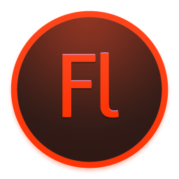 256x256px size png icon of Adobe Flash