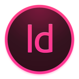 256x256px size png icon of Adobe InDesign