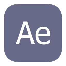256x256px size png icon of MetroUI Apps Adobe After Effects