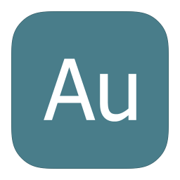 256x256px size png icon of MetroUI Apps Adobe Audition