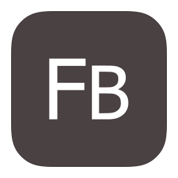 256x256px size png icon of MetroUI Apps Adobe Flash Builder