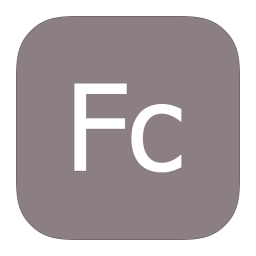 256x256px size png icon of MetroUI Apps Adobe Flash Catalyst