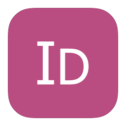 256x256px size png icon of MetroUI Apps Adobe InDesign