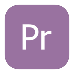 256x256px size png icon of MetroUI Apps Adobe Premiere