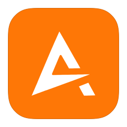 256x256px size png icon of MetroUI Apps Aimp