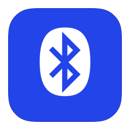 256x256px size png icon of MetroUI Apps Bluetooth Alt