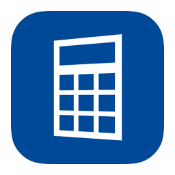 256x256px size png icon of MetroUI Apps Calculator Alt