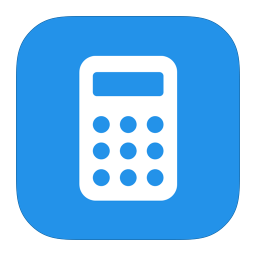 256x256px size png icon of MetroUI Apps Calculator