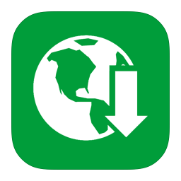 256x256px size png icon of MetroUI Apps Download Manager