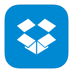 256x256px size png icon of MetroUI Apps Dropbox