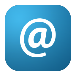 256x256px size png icon of MetroUI Apps Email