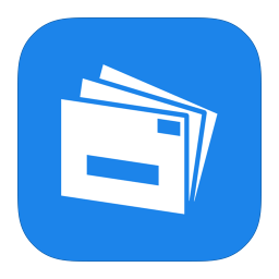 256x256px size png icon of MetroUI Apps Live Mail