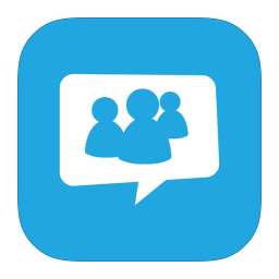 256x256px size png icon of MetroUI Apps Live Messenger Alt 2