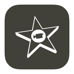256x256px size png icon of MetroUI Apps Mac iMovie