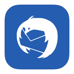 256x256px size png icon of MetroUI Apps Thunderbird