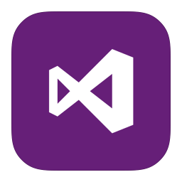 256x256px size png icon of MetroUI Apps VisualStudio 2012