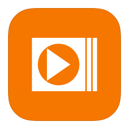 256x256px size png icon of MetroUI Apps Windows MediaPlayer