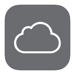 256x256px size png icon of MetroUI Apps iCloud Alt