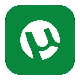 256x256px size png icon of MetroUI Apps uTorrent Alt