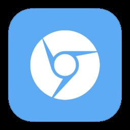 256x256px size png icon of MetroUI Browser Google Chromium Alt