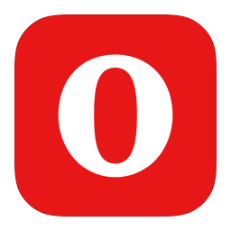 256x256px size png icon of MetroUI Browser Opera Alt
