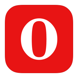 256x256px size png icon of MetroUI Browser Opera