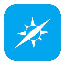 256x256px size png icon of MetroUI Browser Safari