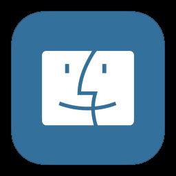 256x256px size png icon of MetroUI Folder OS Mac Finder